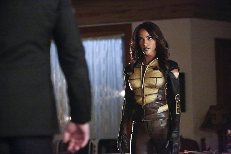 Vixen Arrives And A Secret Is Revealed In First Look Images From Next Week's Arrow