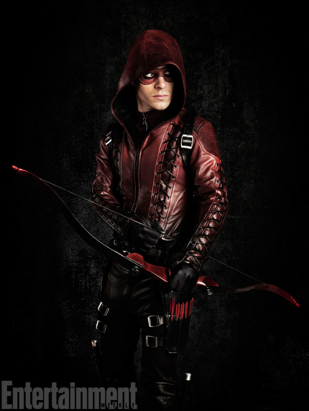 First Look At Colton Haynes As Arsenal In Arrow Season 3