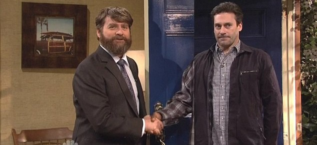 Zach Galifianakis And Jon Hamm Will Be Keeping Up With The Joneses