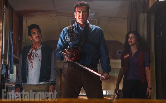 First Photo From Ash Vs. Evil Dead Showcases Bruce Campbell's Handy Chainsaw
