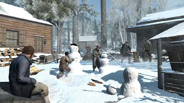 New Assassin's Creed 3 And Liberation Screenshots - Snowmen Confirmed!
