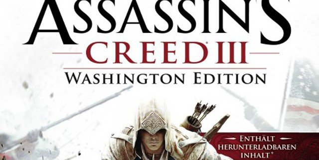 assassins creed iii washington edition