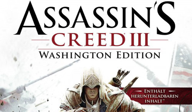 Assassin's Creed III Washington Edition Spotted Online