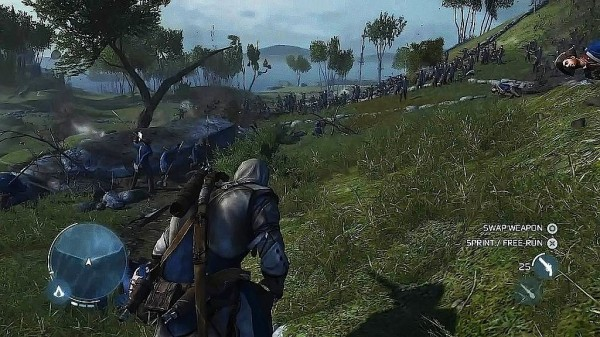 Assassin's Creed III Demonstrated At E3