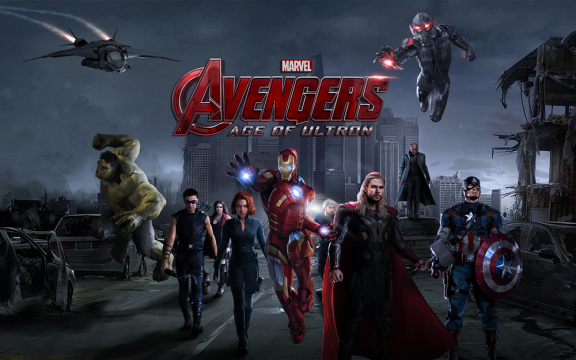 The Hulk Dominates New Avengers: Age Of Ultron Character Poster