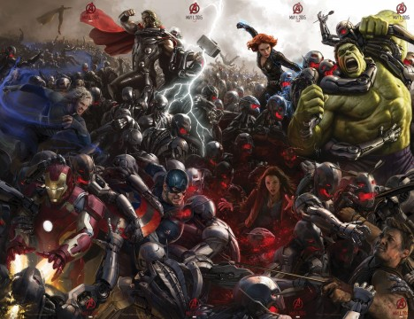 avengers age of ultron massive poster final