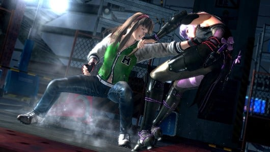 ayane vs hitomi 01 Dead Or Alive 5 Gets Pre Order Bonuses And Collectors Edition