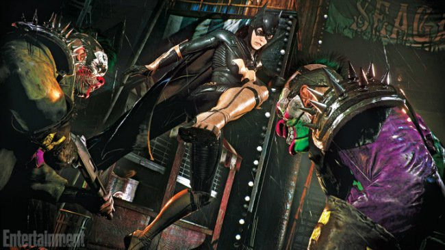 "First Screen Arrives For Batman: Arkham Knight's Batgirl DLC; Add-On Described As ""Love Letter"" To Asylum"