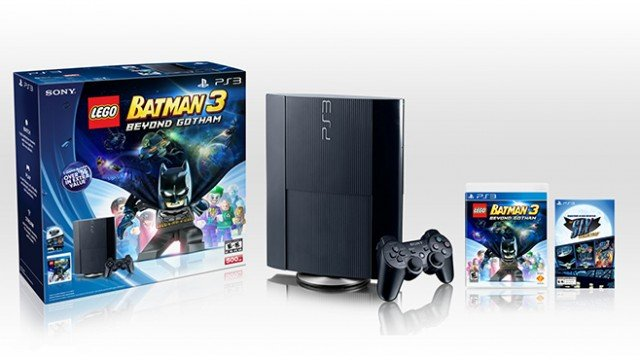 Sony Is Putting Out A New PS3 Bundle, Includes The Sly Collection And LEGO Batman 3