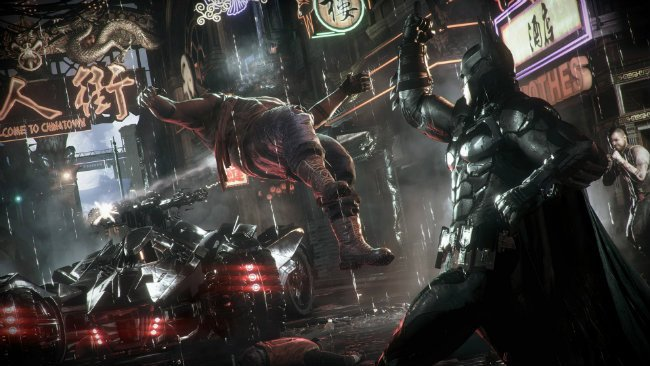Suggestive Themes, Language And Blood Landed Batman: Arkham Knight The M For Mature Rating