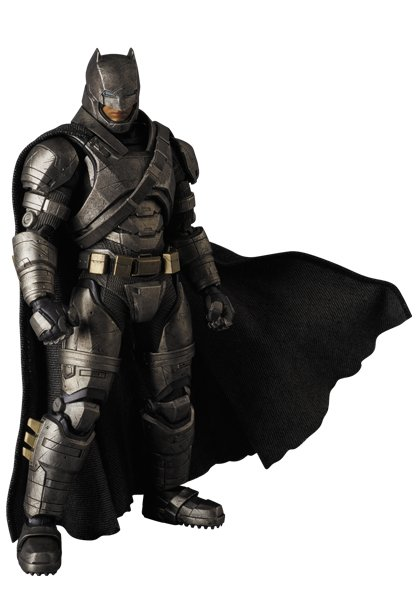 New Batman V Superman: Dawn Of Justice Figures Offer Multi-Angle Looks At Wonder Woman And Armored Batman
