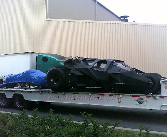 The Dark Knight Rises Will See The Return Of The Tumbler