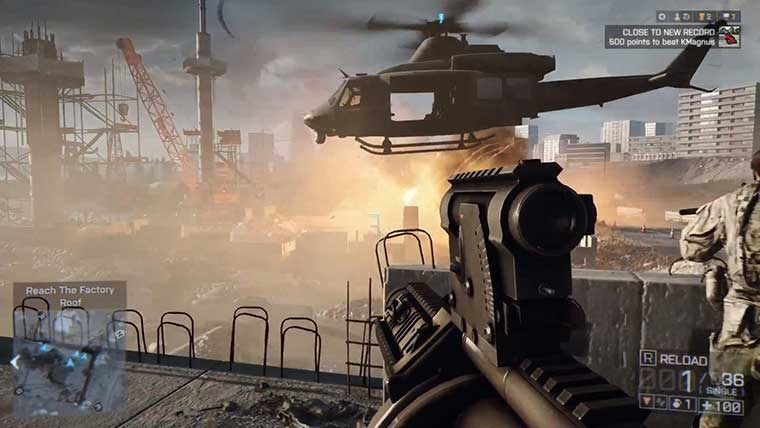 Marvel At The Fluidity Of Battlefield 4's Multiplayer In These New Gameplay Clips