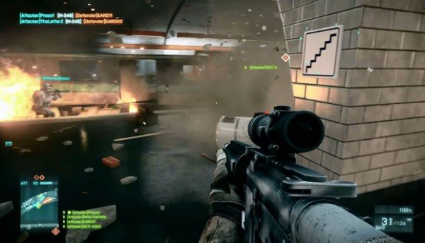 Beautiful Battlefield 3 Footage Shows Off 64 Player Border Battle