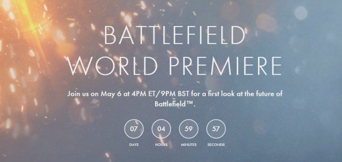 [Updated] Battlefield 5 Announcement Pegged For May 6