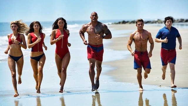 "Baywatch Action Shot Assembles ""The Avengers Of The Beach"""