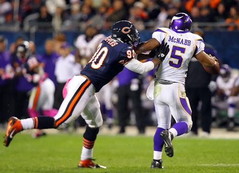 Chicago's Julius Peppers Came To Play Against The Vikings