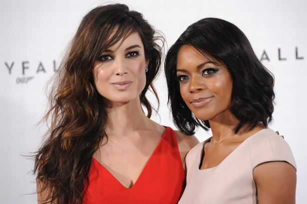 Press Conference Interview With Naomie Harris And Bérénice Marlohe On Skyfall