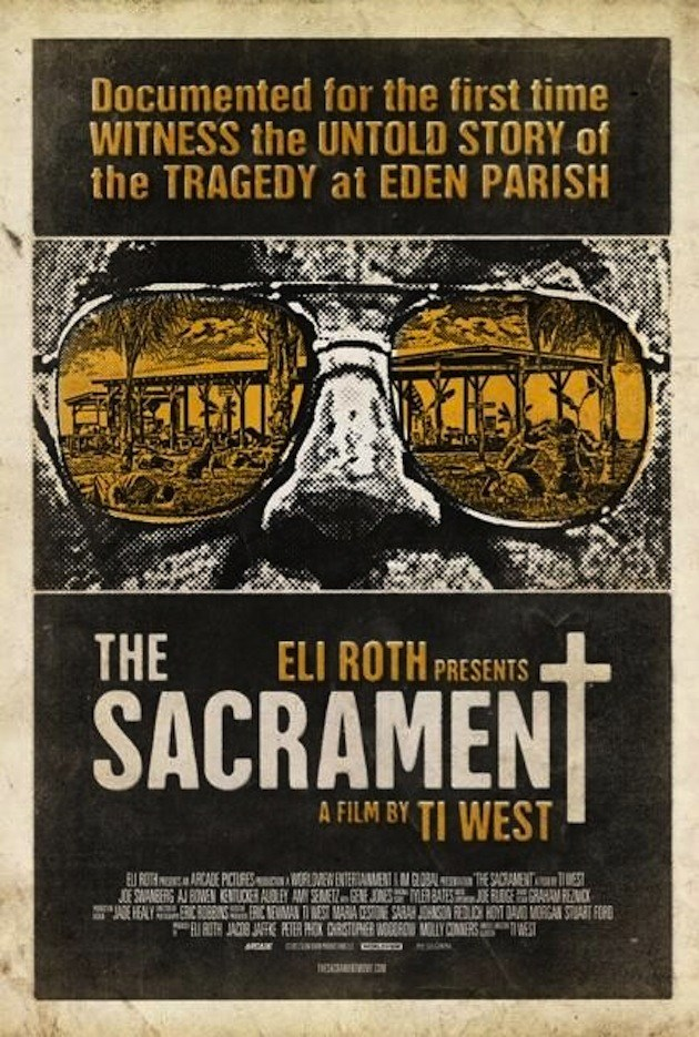 best 2013 movie posters the sacrament The Top 10 Movie Posters Of 2013