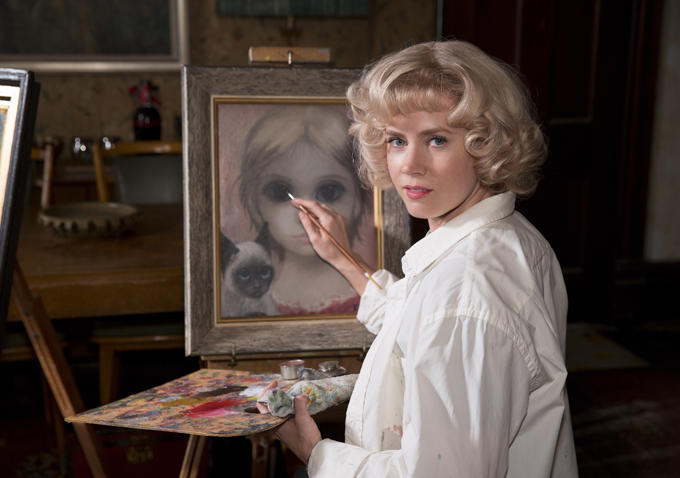 First Images From Tim Burton's Big Eyes Highlight Amy Adams And Christoph Waltz