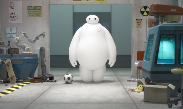 New Images From Disney's Animated Adventure Big Hero 6