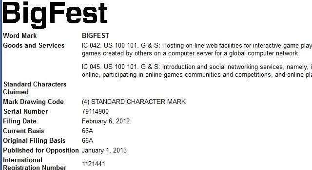 Sony Trademarks BigFest, Sounds Like PlayStation Home For PS4
