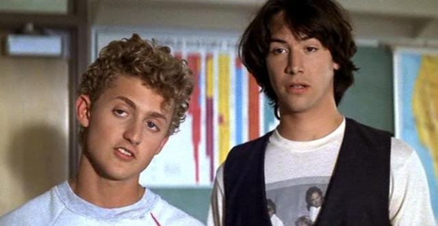 Keanu Reeves Continues Teasing Bill & Ted 3, Says They Have A Story