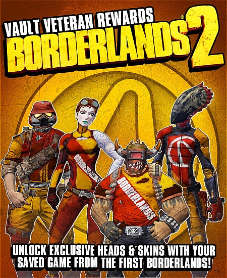 Gamers Who Possess Borderlands Save Files Will Receive Exclusive Borderlands 2 Rewards