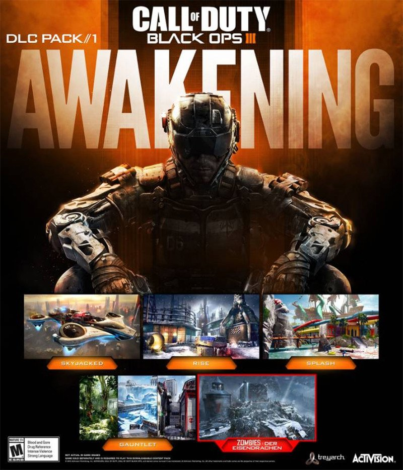 Call Of Duty: Black Ops III's First DLC Map Pack, Awakening, Is Due Out In Early 2016