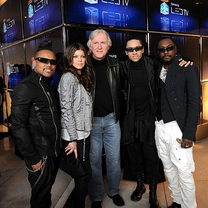 Black Eyed Peas to Work With James Cameron