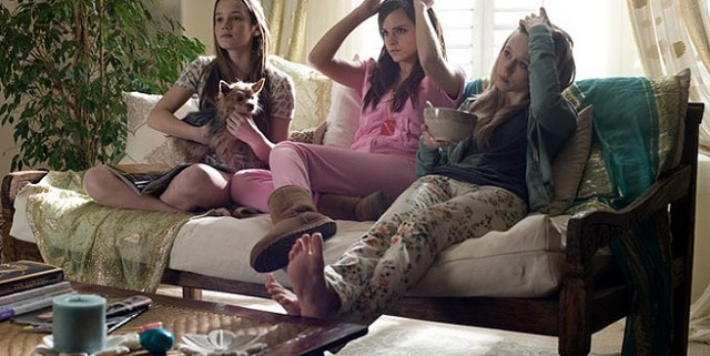 bling ring farmiga watson couch 640x321 The Bling Ring Gets New Media & First Review