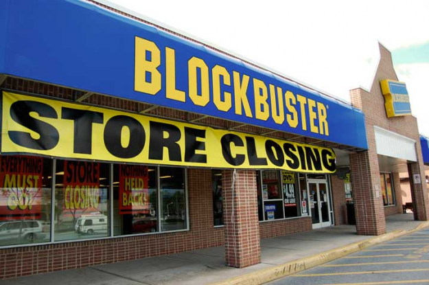 Blockbuster To Close 300 Stores