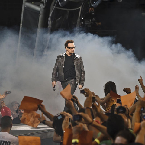 U2 Debuts Another New Song During 360 Tour
