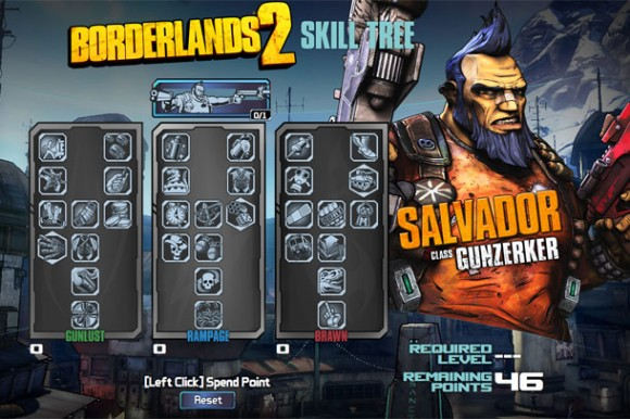 Plan Your Character With These Borderlands 2 Skill Tree Previews