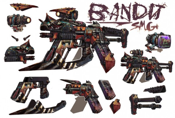 Use Guns With Personality In Borderlands 2