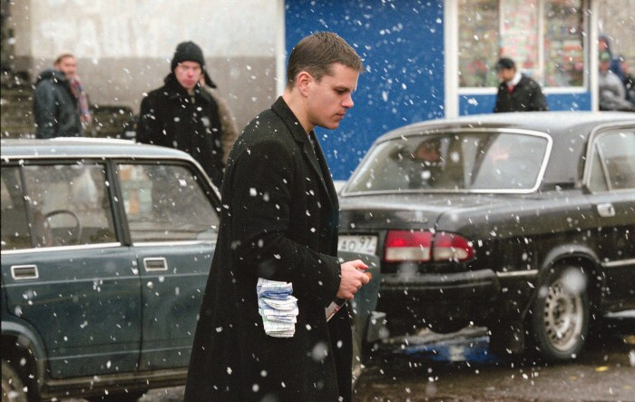 bourne supremacy matt damon 1 We Got This Covereds Top 100 Action Movies