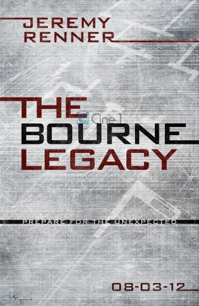First Poster For The Bourne Legacy