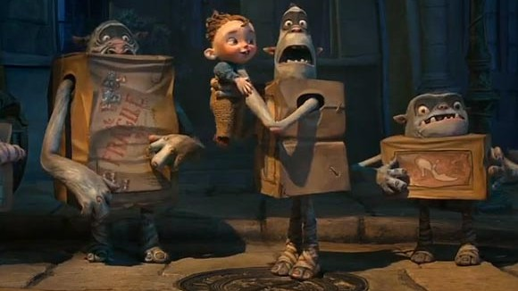 boxtrolls teaser 580x326 New Trailer For The Boxtrolls Promises A Rollicking Animated Adventure
