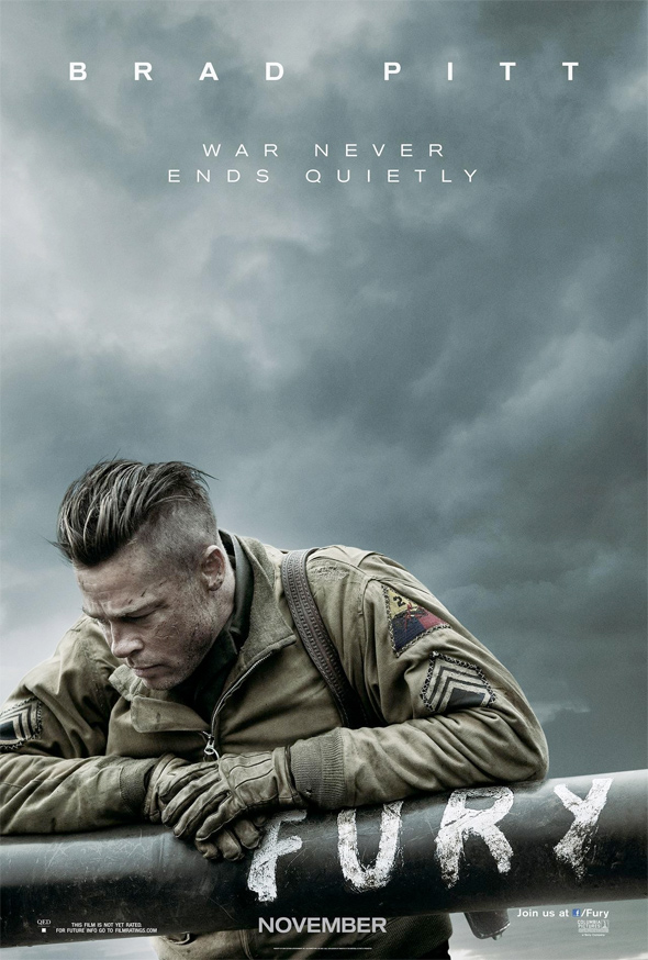 Fury Gets A Solemn First Poster