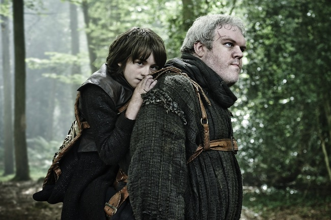 Bran and Hodor Game Of Thrones