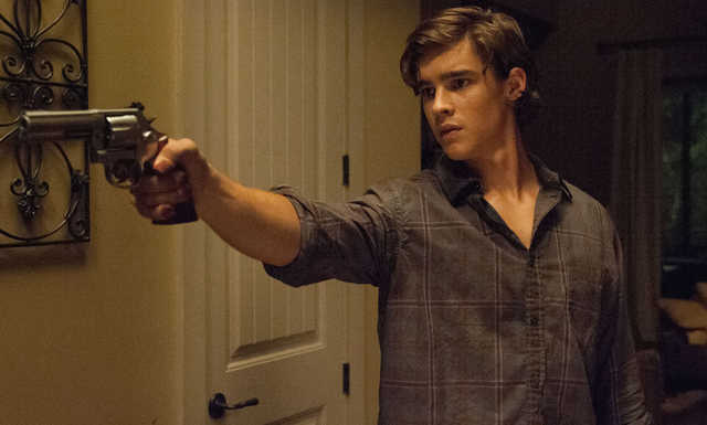 M134 Brenton Thwaites stars in Relativity Media's OCULUS.  Photo Credit: John Estes ©2013 Lasser Productions, LLC. All Rights Reserved.