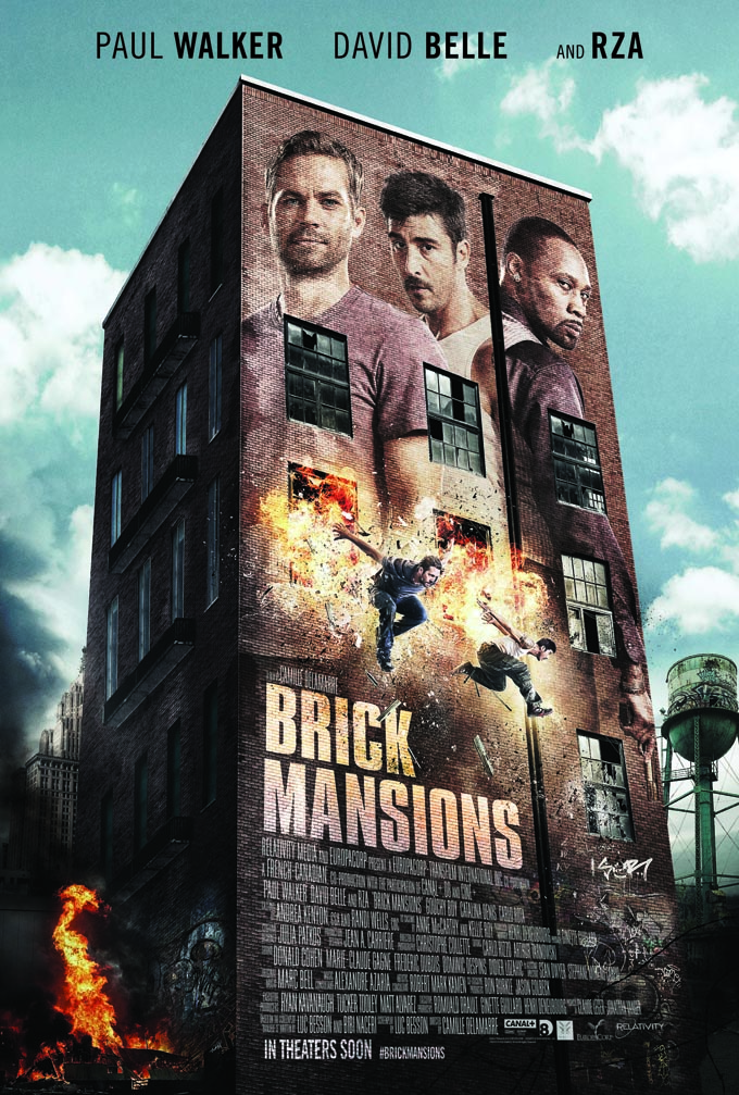 First Trailer For Brick Mansions Promises Explosive Action