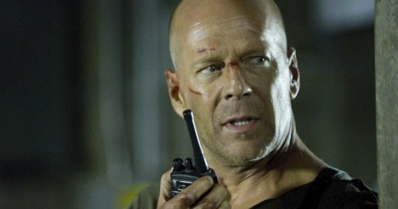 bruce willis die hard 5 Ten Of Bruce Williss Most Awesomely Badass Moments