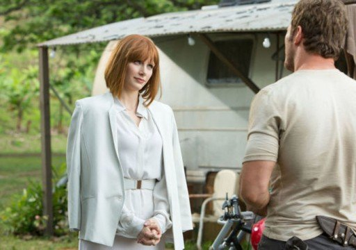 Bryce Dallas Howard Goes Head-To-Head With The D-Rex In New Jurassic World Poster