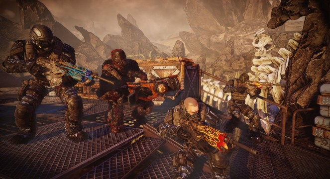 How To Be Kings Of Anarchy In Bulletstorm