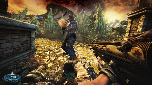 Christmas Greetings...With A Bulletstorm Twist