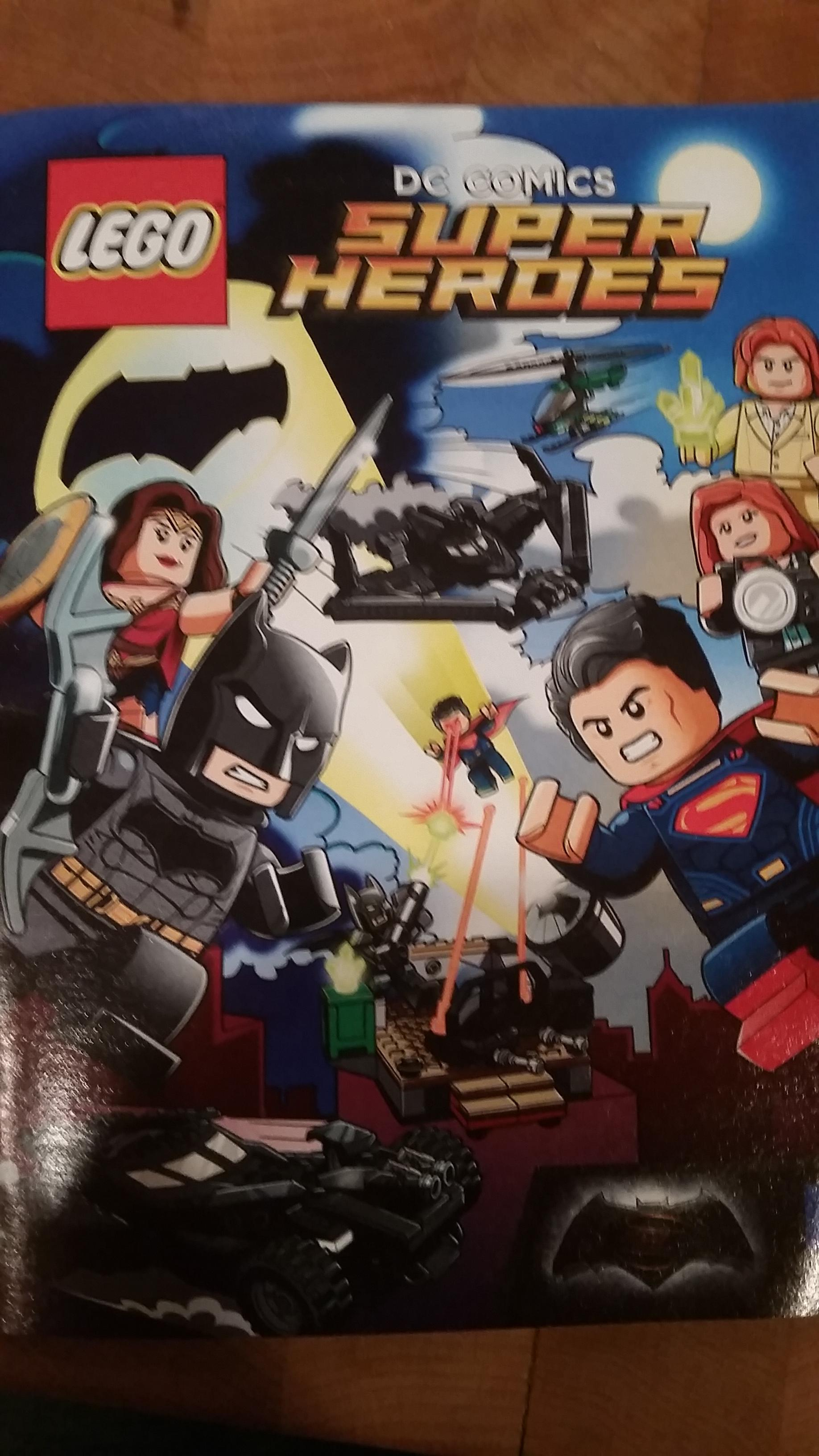 Batman V Superman: Dawn Of Justice LEGO Comic May Shed Light On Film's Action Scenes