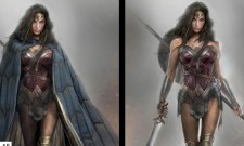 DC's Trinity Takes Point In Batman V Superman: Dawn Of Justice Concept Art