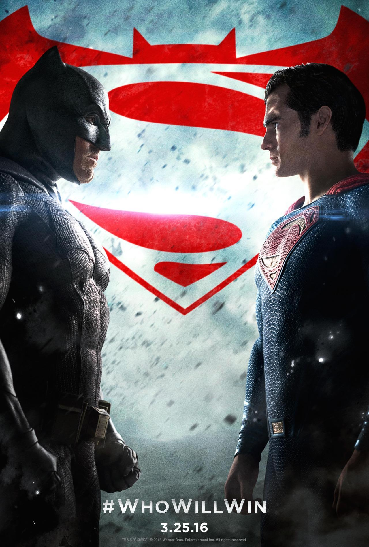 Batman V Superman: Dawn Of Justice Gets An Epic Final Poster