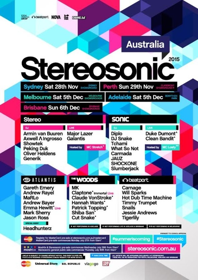 Stereosonic's Lineup Is As Stacked As Ever